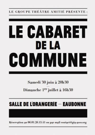 Le cabaret de la commune